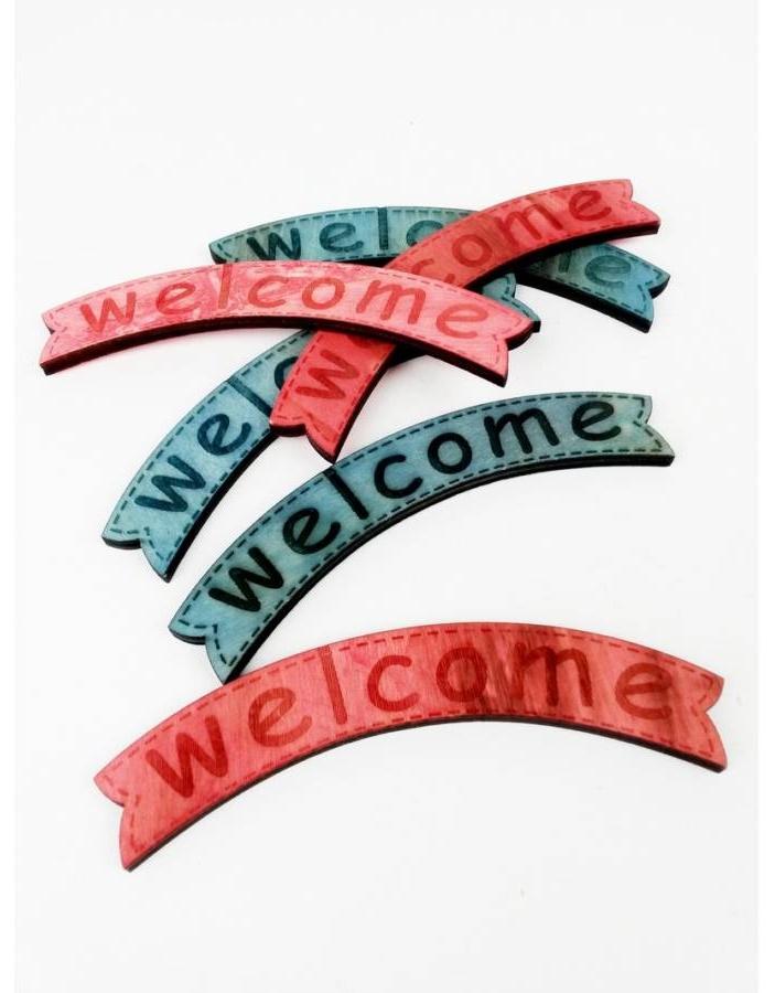 "Dekoracija ""Welcome"""